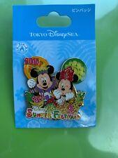 Tokyo Disney Resort Pin Tds Summer Festival 2015 Mickey Minnie