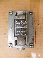 "Allen Bradley Pushbutton Station 800H-2HA7 800H2HA7 STOP & START Ser M 3/4"" NPT"