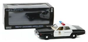 Greenlight 84101 The Terminator 1977 Dodge Monaco Metropolitan Police 1/24 Scale