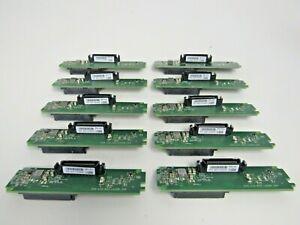 """LOT of 10 EMC 303-115-003D REV D01 SAS Fiberchannel 3.5"""" Caddy Interposer 38-3"""
