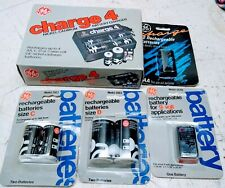 Ge Charge 4 Nickel Cadium Charger Model Bc-4A Bundle