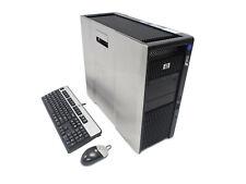 HP Z800 12-Core Xeon 2x X5670 2.93GHz 96GB Ram 256GB SSD 4TB HD Q 4000 2GB Win10