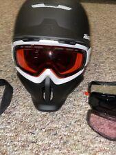 RuRoc RG1-DX Core Ski SnowBoard Helmet & Goggles Size XL/XXL W/Shockpods &more