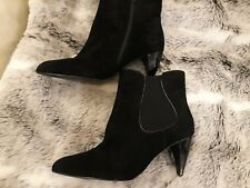 Stylish M&S Autograph Suede Leather Ankle Boots Size UK 6.5 New