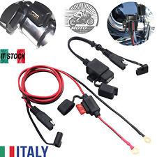 Cavo caricatore adattatore SAE a USB impermeabile moto per telefono/tablet/GPS