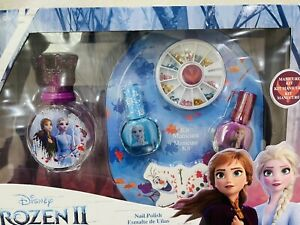 Disney Frozen Perfume And Nail Set With Gems And Olf Manicure Kit