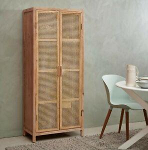 Rattan bookcase, Wardrobe
