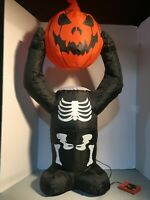 Halloween Airblown Inflatable 8 Ft H Animated Whimsy Pumpkin Stack 86786707647 Ebay
