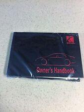 1997 Saturn Owners Manual