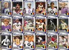 Anderlecht 1983 UEFA Cup winners football trading cards
