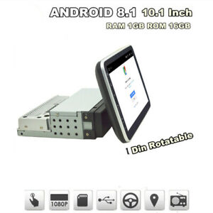 "Car 1 DIN 10.1"" Android Touch Screen 1G +16G ROM Stereo Radio GPS Wifi Navigatio"