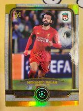 MOHAMED MO SALAH 2019-20 Topps Museum UEFA Champions League Base Gold /50 *READ*