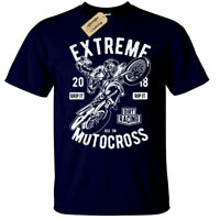 Extreme Motocross T-Shirt Mens Dirt Racing bike