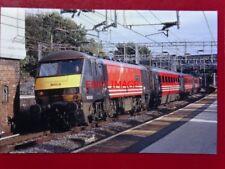 PHOTO  CLASS 90 ELECTRIC LOCO NO 90006 MODERN RAILWAY MAGAZINE