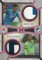 2018-19 Topps Bundesliga Museum Collection Dual Meaningful Material Ruby /25