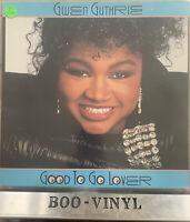 Gwen Guthrie – Good To Go Lover – Polydor LP Vinyl Record German Press Ex Con