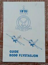 New listing 1987 Visitor Guide Bodø Flystasjon Royal Norwegian Air Force & Usa 4th Mab Usmc