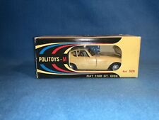 Vintage Mint Politoys-M 1:43 Fiat 1500 GT GHIA 332/800 #528 Diecast New Unopened