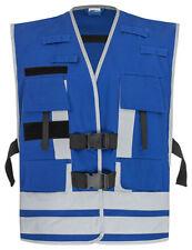 Funktionsweste Kennzeichnung Einsatzpersonal Reflex silber blau