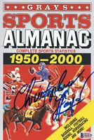 "CHRISTOPHER LLOYD ""BACK TO THE FUTURE"" AUTOGRAPH SIGNED PROP ALMANAC BECKET 2"