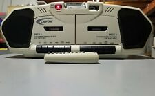 Califone 2395Av-02 Cd Player Dual Cassette Player Recorder/W Remote Control