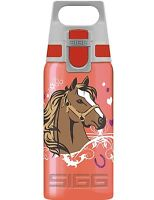 SIGG Flasche Pferde Trinkflasche 0.5 l VIVA WMB ONE Reiten Pony Horses Rot Rosa