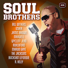 Soul Brothers  new cd 2-cd - Billy Paul, Bob Marley, Trammps, Maxwell and more