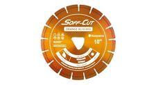 """10"""" Soff Cut Orange XL10-4000 Ultra Early Entry Diamond Blade w/ Skid Plate"""