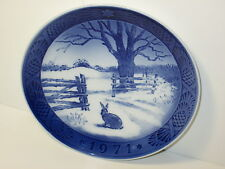 Royal Copenhagen Hare in Winter Collector Plate