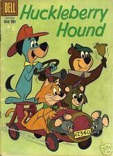 RARE DELL HUCKLEBERRY HOUND #6 JUN-AUG 1960 VF