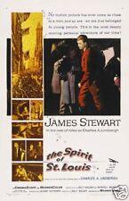 The spirit of St. Louis James Stewart movie poster