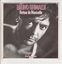 "GRIMALDI Bruno Vinyl 45 tours SP 7"" RETOUR DE MANIVELLE -BIG BANG 884149 NM"