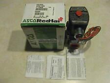 "Asco Red-Hat II Solenoid Valve EF8215G033 3/4"" 120 Volt"