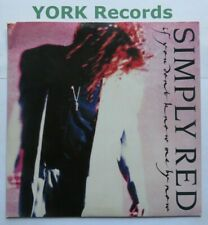"""SIMPLY RED - If You Don't Know Me By Now - Ex Con 7"""" Single Elektra YZ 377"""