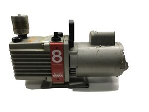 Edwards E2M8 High Vacuum Pump Model 8 Two Stage w/ 1/2hp Franklin Motor 120v