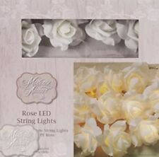 Rose String Light 20 DEL Home Lampe De Chevet Enfants'S Chambre Crème blanche couleur