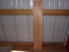"1 Pc Cherry Wood Wide Kiln Dried 29 7/8""X 5 3/16""X 3/4"" Lot 597A Cupped"