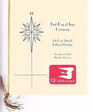 USPS First Day Ceremony Program UC47 Bird in Flight Airmail Envelope FDOI 1973