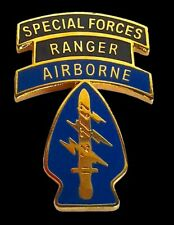 Special Forces Ranger Airborne Military Veteran Us Army Hat Pin