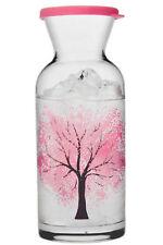 Large 42oz Color Changing Glass Tree of Life Pitcher Jug Water Lemonade Carafe