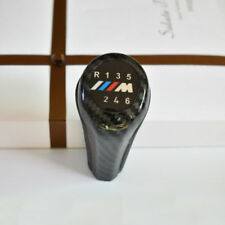 12MM Carbon Fiber 6 speed Shift Gear Knob For BMW M E90 E91 E92 E93 3-Series