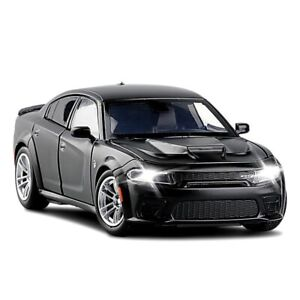 1:32 Dodge Charger SRT Hellcat Simulation car of Model Alloy Toy car muscle Kids