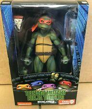 NECA TMNT Teenage Mutant Ninja Turtles Michelangelo Movie Figure Genuine MISB 90