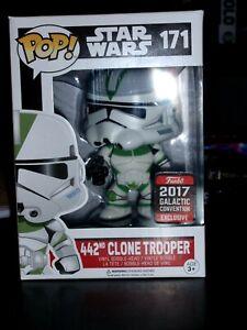 Funko Vinyl Pop  Star Wars 442nd Clone Trooper #171