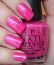 New! OPI ~La Paz-itively Hot~ Bright Fuchsia Hot Pink Nail Polish Lacquer .05 oz