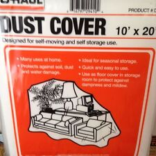 New Dust Cover for moving and storage protection plastic covering Fast Shipping