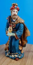 Kirkland Christmas Porcelain Nativity Replacement Piece Wise Man Standing King