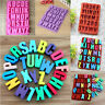 Big Alphabet Letters Silicone Soap Mould Ice Cube Cake Chocolate Candy DIY Mold