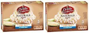 Orville Redenbacher's Naturals Light Classic Butter & Sea Salt Popcorn 2 Pack