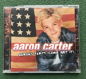 Aaron Carter Aaron's Party 2000 CD Boy Band Pop music